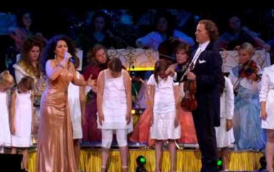 Andre Rieu and Carmen Monarcha