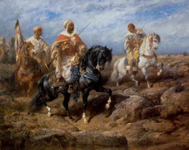 Adolf Schreyer – German painter