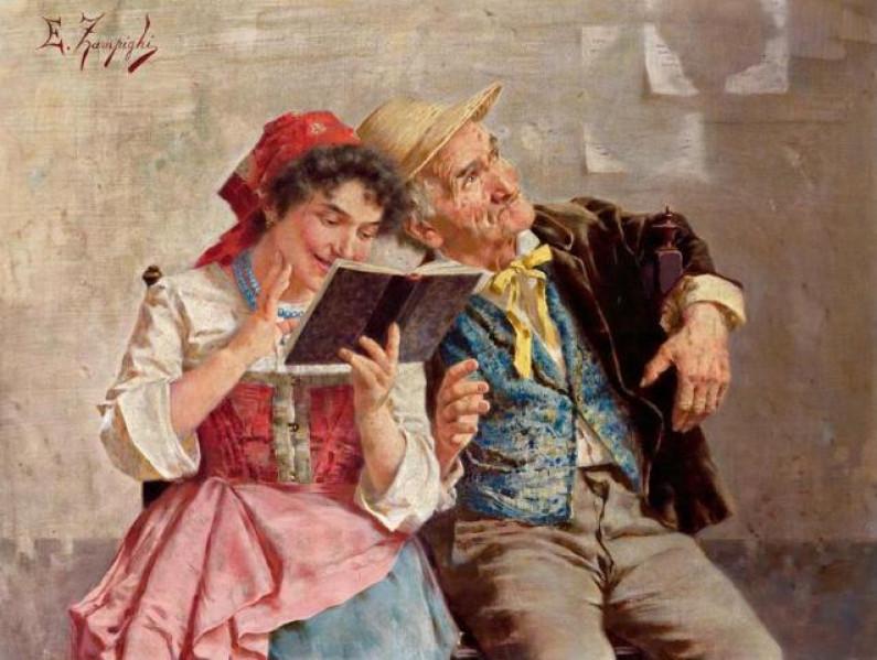 Eugenio Zampighi – Italian painter