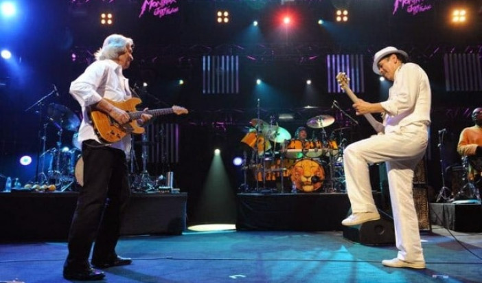 Carlos Santana & John McLaughlin – Downstairs